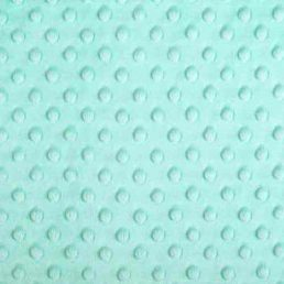 Plush Fabric Dotted Dimple Minky Tiffany - buy from Cuddle Plush Fabrics
