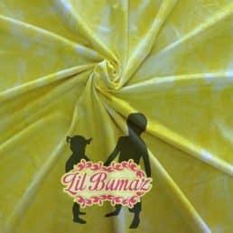 Lemon Sherbert Tie Dye Minky from Lil Bumaz