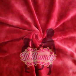 Ruby Tie Dye Minky from Lil Bumaz.