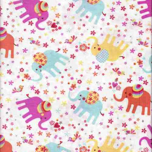 Cotton fabric in cute designs for baby bibs and burp for Baby fabric uk