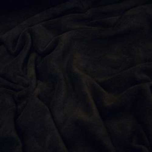 Black microfleece
