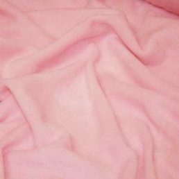 Pink microfleece