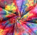 Kaleido Rush Fusion Wickedly Woven tie-dye minky