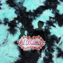 Midnight Ice plush fabric from Lil Bumaz