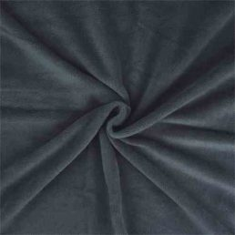 Charcoal Grey Anti Pil Polar Fleece