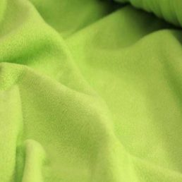 Lime Green Anti Pil Polar Fleece