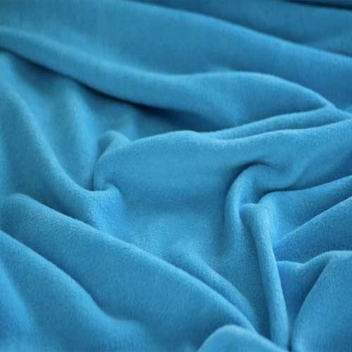 Turquoise Blue Anti Pil Polar Fleece
