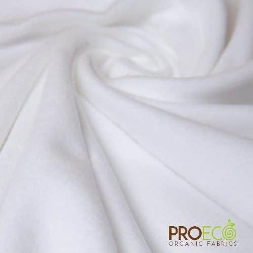 Organic Cotton Fleece White