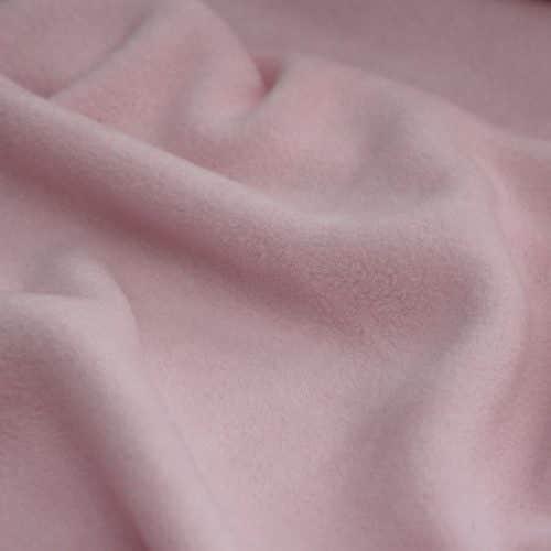 Pastel Pink Anti Pil Polar Fleece