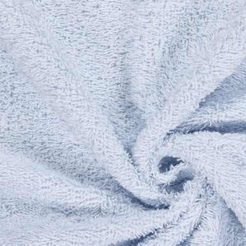 Baby Blue Cotton Terry Towelling