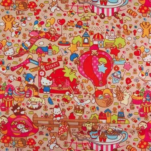 Toon Town Ripstop Fabric