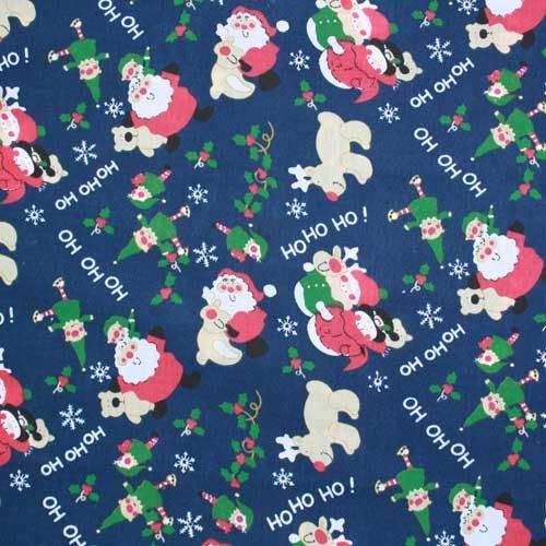 Christmas Ho Ho Ho PolyCotton