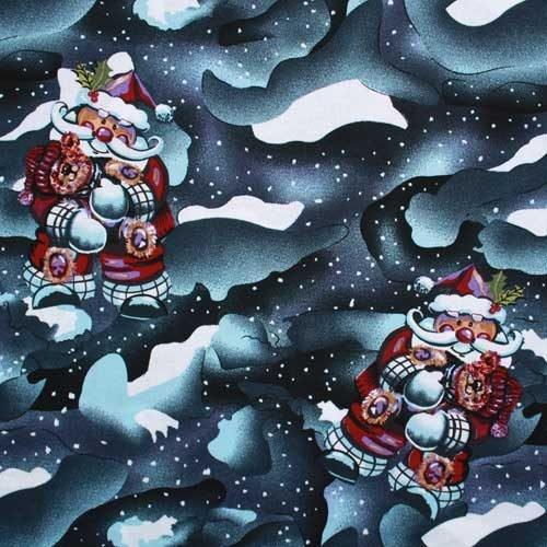 Christmas Santa Cotton