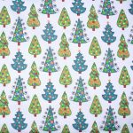Christmas Trees PolyCotton