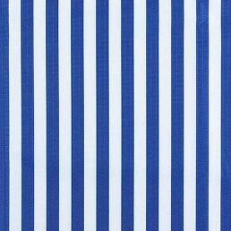 Blue and White Stripe Ripstop Fabric