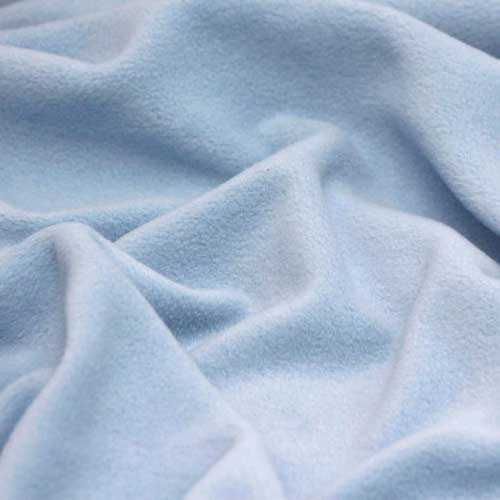 Sky Blue Anti Pil Polar Fleece
