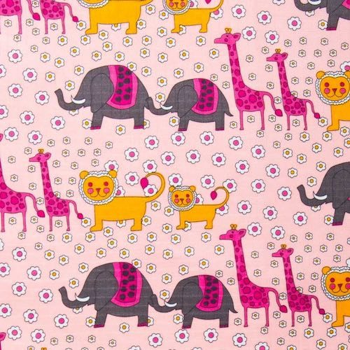 Animals Ripstop Fabric