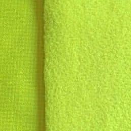 Celery Polartec Wind Pro Fleece Hardface Jersey-Velour 9509