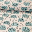 Crystal Cat Cotton Jersey Fabric