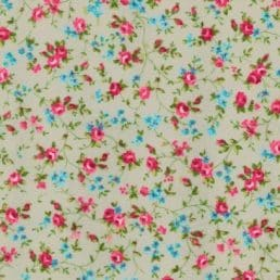 Ditsy Roses Cotton Fabric