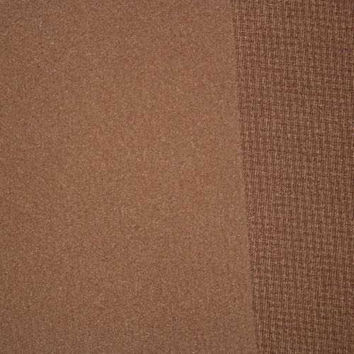 Brown Polartec Wind Pro Fleece Hardface-Velour Recycled 9175
