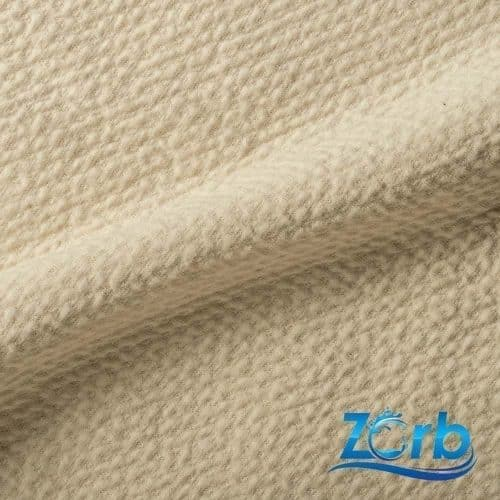 Zorb 3D Organic Cotton Dimple Fabric with SILVADUR