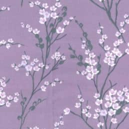 Blossom Lilac Cotton Fabric