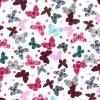 Vivid Butterflies Cotton Fabric