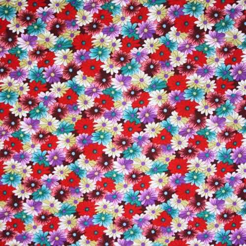 Gerbera Cotton Fabric