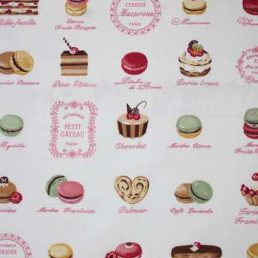 Macaroons Cotton Fabric