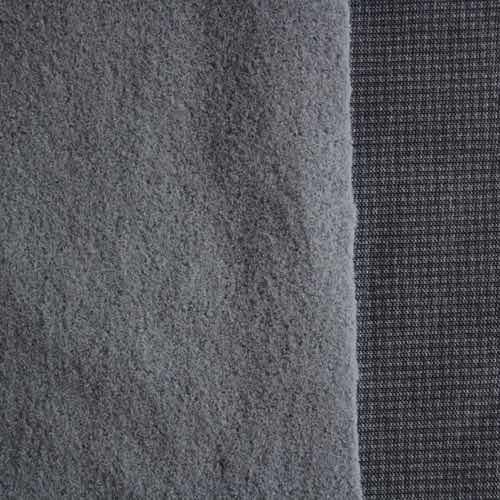 Slate Polartec Power Stretch Fleece Hardface Jersey-Velour 9411