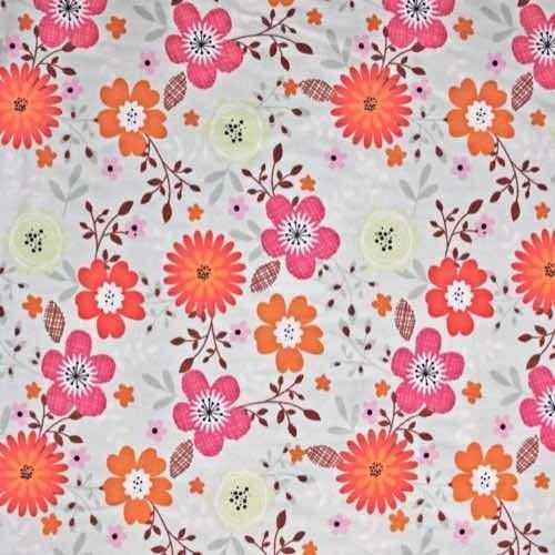 Country Garden Cotton Fabric