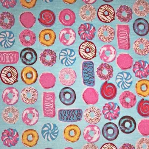 Party Rings Cotton Fabric