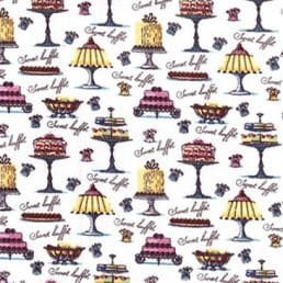 Cakes Galore Cotton Fabric
