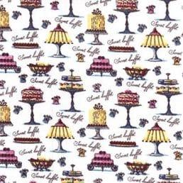 Cakes Galore Cotton Fabric