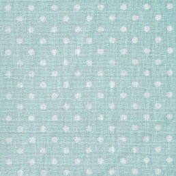 Mint Dobby Spot Cotton Fabric