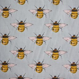 Honey Bees Cotton Fabric