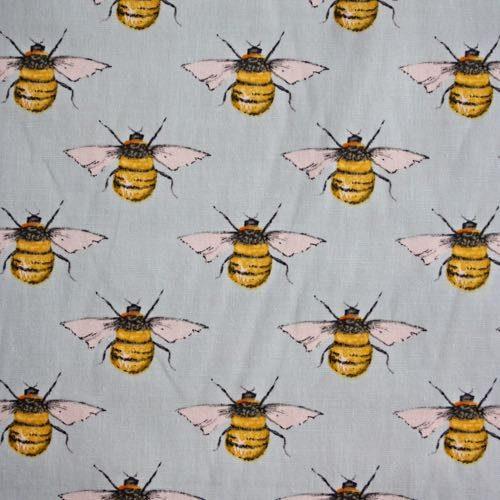 Honey Bees Cotton Fabric