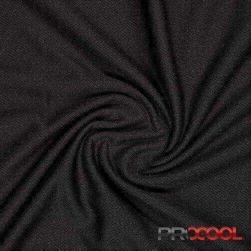 ProCool® Athletic Jersey Mesh Black
