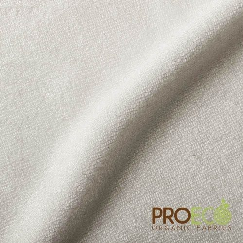 ProECO® Bamboo Baby Loop Terry Towelling - Natural White