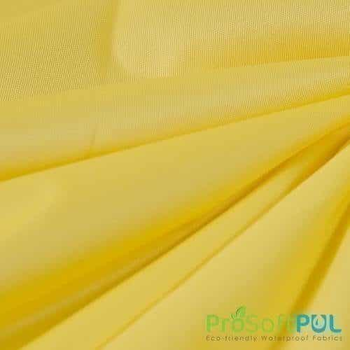 ProSoft® Waterproof 1 mil PUL Citron Yellow