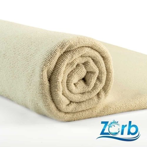 Zorb® Microfibre Terry Plus Natural