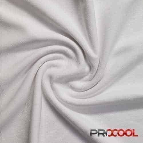 ProCool® Athletic Jersey Mesh White - By the Roll
