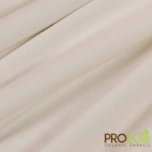 ProECO® Organic Cotton Interlock Natural - By the Roll