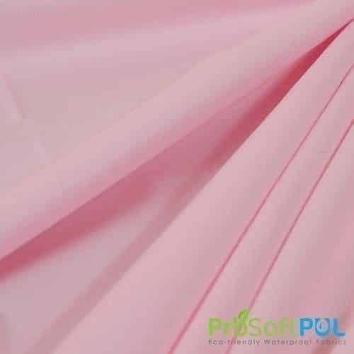 ProSoft® Waterproof 1 mil PUL Baby Pink - By the Roll