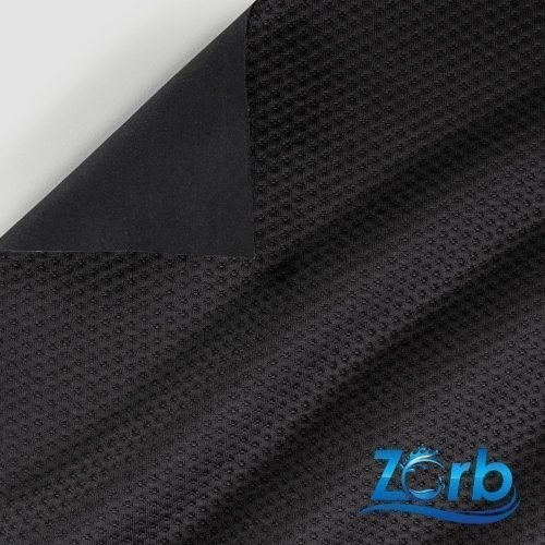 Zorb® 4D Polyester Dimple Waterproof PUL Soaker Fabric Black
