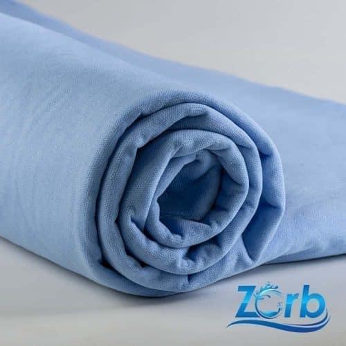 Zorb® 4D Waterproof Soaker Super Absorbent Fabric Blue