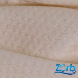 Zorb® 3D Organic Cotton Dimple Fabric with SILVADUR™