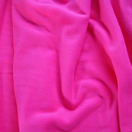 Flo Pink Anti Pil Polar Fleece