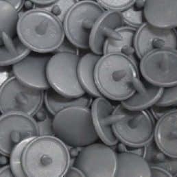 Kam Snaps B45 Metallic SIlver